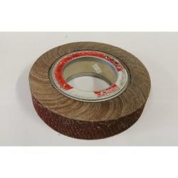 BIELLE RF0321 - Ruota Abrasiva lamellare su flange 222x50mm - 3400rpm