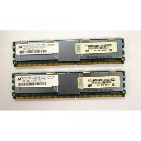 Micron RAM DDR2 1X1GB MT9HTF12872FY-667E2D6 200914 CBNDN76001