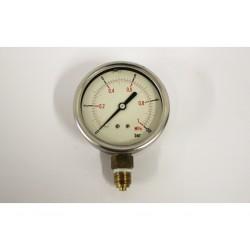 Manometro di pressione 10 bar