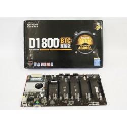 Onda D1800-BTC Scheda Madre per Mining 6-GPU - Intel Celeron J1800 + 4GB Ram DDR3