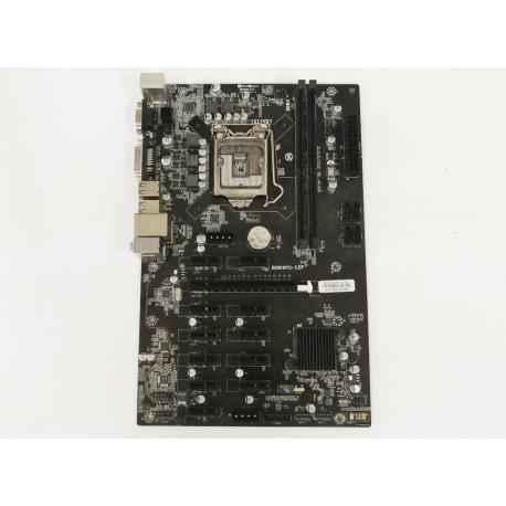 B250-BTC-KING B250 BTC-12P Scheda madre per mining 11*Pci-express 1X + 1*Pci-express 16X