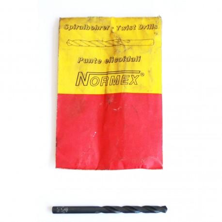 Punta Professionale NORMEX Elicoidale per Trapano - HSS da 6.7mm.