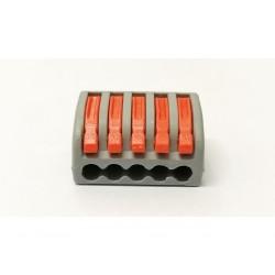 Kit 8 x Connettore cavi 5 Pin sgancio rapido per cavi fino a 4mmq