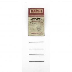 Kit 4 x Punte da Trapano NACHI da 1.2mm.