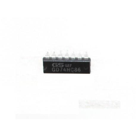Optoaccoppiatore 14 PIN GS G27 - GD74HC86 - Nero