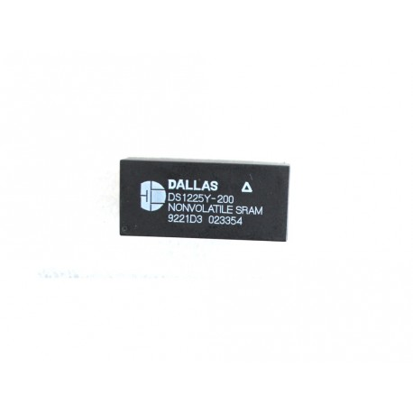 Circuito Integrato Originale 28 PIN DALLAS DS1225Y-200 64 K - Nero