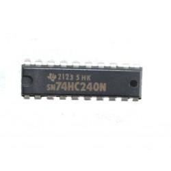Circuito Integrato 20 PIN 2123 5 HK - SN74HC240N - Nero
