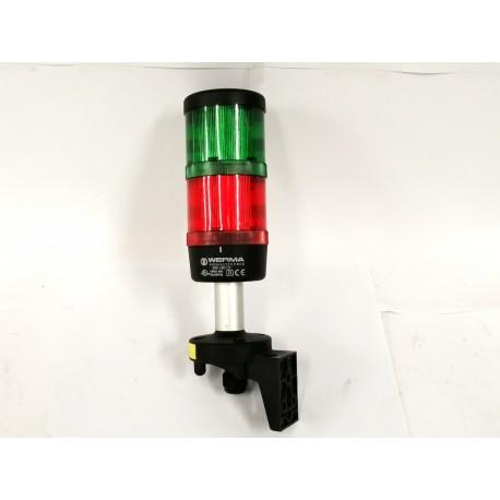 WERMA SIGNALTECHNIK Colonna luminosa - Rosso Verde