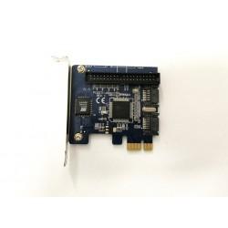 Adattatore scheda di espansiobe SATA III a 2 porteSATA 3.0 PCI