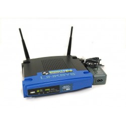 Cisco Linksys WRT54GL - Access Point Router 2.4Ghz 802.11B/G + 4 LAN