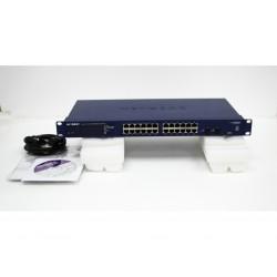 Switch Netgear Prosafe GS724Tv4 24P Gigabit feature :128VLAN-RSTP-MSTP