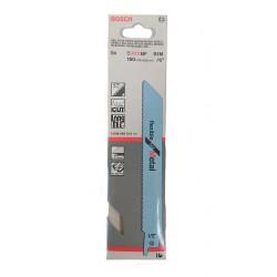 Bosch 2-608-656-014 - 5xLama da Metallo per Seghetto S922BF BIM 150x19x0,9mm