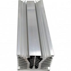 Dissipatore di Calore in Alluminio per Elementi di Potenza 350x125x100mm 5Kg