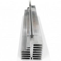 Dissipatore di Calore in Alluminio per Elementi di Potenza 300x50x70mm 700gr.