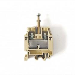 CABUR CB510 - Morsetto Passante DIN CBD.16 con Gambo di Interfaccia 16mmq