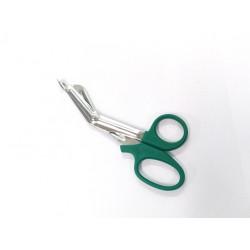 PVS - Forbici Curve per Bendaggio con Impugnatura in Plastica - 40mm