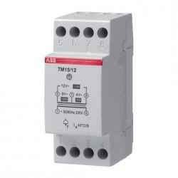 ABB Trasformatore di Tensione TM15/12 DIN 230V 15VA 4-8-12VAC