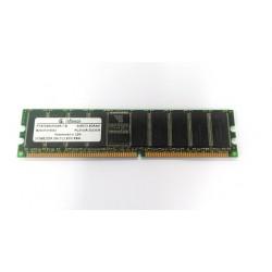 INFINEON - Memoria Ram 512Mb, DDR 266 CL2 ECC, REG PC2100R-20330-M (HYS72D64500GR-7-B)