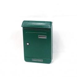 ALUBOX - Cassetta Postale per Esterni in Acciaio verniciato Verde UNO maxi