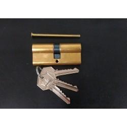 Yale 2100071 - Serratura a Cilindro con Chiavi - Ottone - 70mm