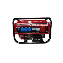 EH8500WH - Generatore Gruppo Elettrogeno 1x380V 3x220V 1x12V - 8500W 6.5HP