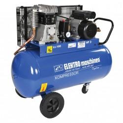 REM E351-9-100 - Compressore BiCilindrico Trifase 100LT 400V a Cinghia