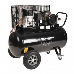 REM E351-10-100 - Compressore BiCilindrico Trifase 100LT 400V a Cinghia PREMIUM