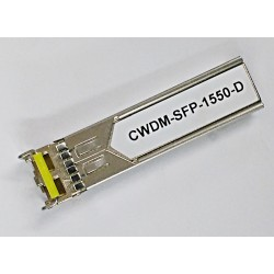 Cisco CWDM-SFP-1550 Compatible - SFP Gigabit Ethernet and 1G/2G FC 1550nm 80Km