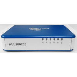 Powerline 200 Mbit Powerline Switch + 4 Porte Ethernet