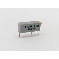 BI 89XHR10K - Multiturn Cermet Trimmer 10K 10% 0.75W
