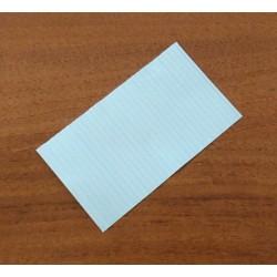 3000 x Laccetto Rivestito in Plastica Alimentare Multiplast S:30 70mm - Bianco