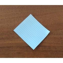 3000 x Laccetto Rivestito in Plastica Alimentare Multiplast S:15 70mm - Bianco
