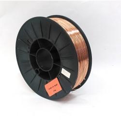 Tecnosol 608 - Bobina Filo Saldatrice Ramato per Saldatura a Filo 0.60mm - 5Kg