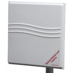 ElBoxRF TetraAnt 5-23-10-RSLL - 23dBi Directional Panel Antenna 5.2-6.1Ghz 350x350x50mm con Kit di Montaggio