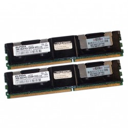 HP 398707-051 - 4GB Fully Buffered PC2-5300 2x2GB DDR2 Kit