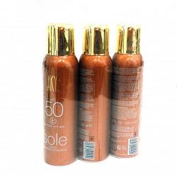 AKYS 4.23-FL-OZ - 3 x Spray Solare 50spf Anti-Age 125ml
