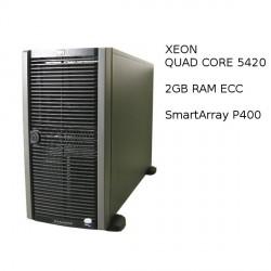 HP Proliant ML350G5 - Xeon QC E5420 - 2GB Ram - No Disk - SAS SATA - 1PSU