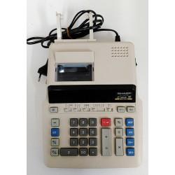 SHARP Calcolatrice da Tavolo EL-2607R - 2 Colori 12 Cifre 4.3 Linee per Secondo
