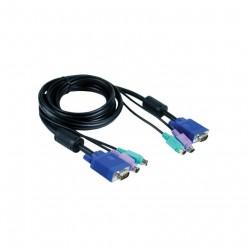 D-Link DKVM-CB - Set di Cavi Aggiuntivi per Switch DKVM - 1.8Mt