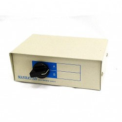 MANHATTAN - Switch Data Transfer Manual Box 2 Way Parallel Port A B