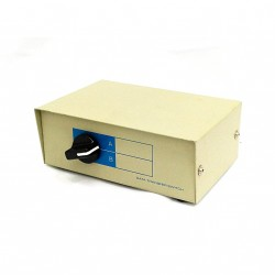 SWITCH Data Transfer Manual Box 2 Way Parallel Port A B