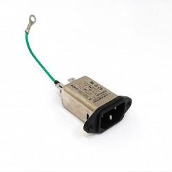 SCHaFFner FN9222R - Ingresso Presa Connettore Maschio 0.1uF 250VAC 50/60Hz