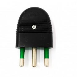 VIMAR - Spina di Corrente Standard 16A 250V - Nero