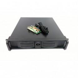 AICSYS RCK-204MA - Server Cabiner Rackmount 2U per Schema Madre ATX + PSU