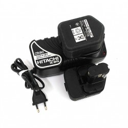 HITACHI UC18YG - Caricabatterie 7.2-18V + 2 Batteria 12V