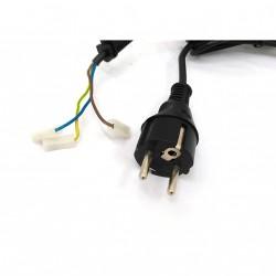 MINTEC BS6500 - Cavo di Alimentazione in Gomma Flessibile 16A 250V P660 - Nero - 1.90Mt
