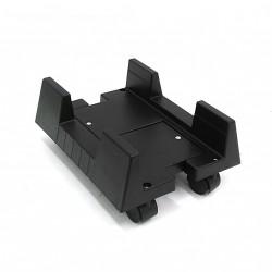 VULTECH 13687 - Carrello ABS Porta PC - Ruote Girevoli - Nero