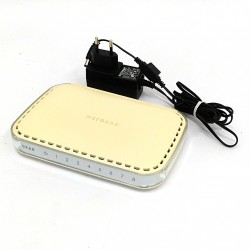 NETGEAR GS608 - Switch 8 Port 10/100/1000 Mbps + Alimentatore
