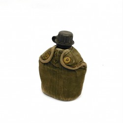 Esercito Olandese - Bottiglia da Campo Plastica Rivestimento in Tessuto