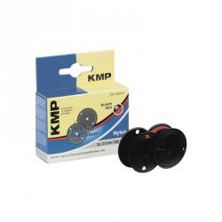 KMP 0051,0102 - Nastro Inchiostro Nylon per Stampanti 13mm x 6Mt - Nero-Rosso
